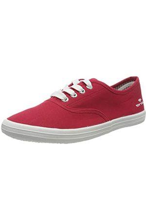 TOM TAILOR Damen 8092401 Sneaker, (Red 00004)