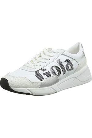 Gola Damen Eclipse Tribute Sneaker, (White/Black/Silver Wb)