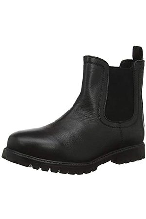 Term Unisex-Kinder Chelsea Boots, (Black 001)