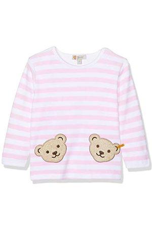 Steiff Unisex - Baby Sweatshirt, gestreift Doppelbären Shirt 0002891