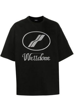 We11done T-Shirt im Oversized-Design