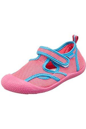 Playshoes Unisex-Kinder UV-Schutz Sandale Aqua Schuhe, Pink (Pink/Türkis 792)