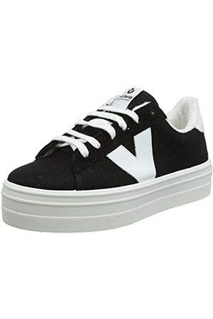 victoria Damen Barcelona Deportivo Lona Hohe Sneaker, (Negro 10)