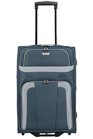 Elite Models' Fashion ORLANDO Koffer, Reisetrolley 2-Rad M (63 cm) ; Rollkoffer mittlere Größe mit Außen- und Innentasche