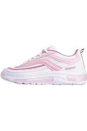 Kappa Damen SQUINCE MF Sneaker, (White/Rosé 1021)