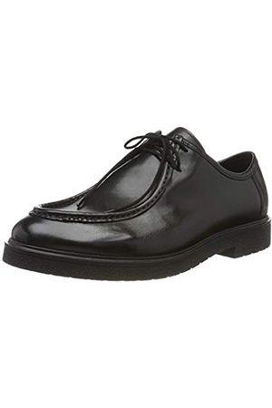 Clarks Herren Ashcroft Seam Brogues, (Black Leather)