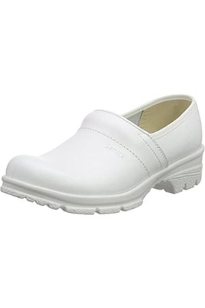 Sanita Workwear Unisex-Erwachsene San-Duty Closed-O2 Clogs, (White 1)