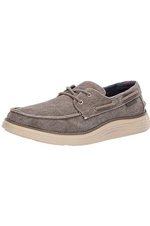 Skechers Men's STATUS 2.0- LORANO Moccasins, (Taupe Tpe)