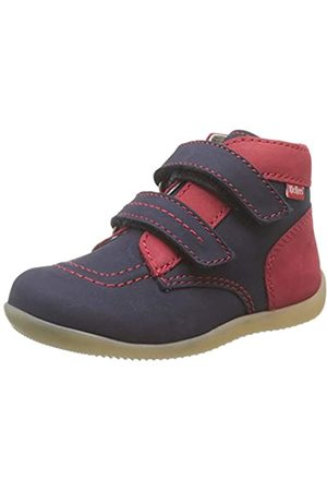 Kickers Unisex Baby Bonkro-2 Stiefel, (Marine Rouge 103)