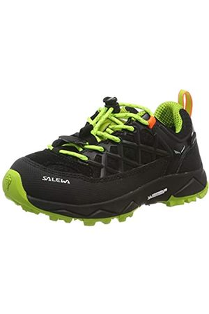 Salewa Unisex-Kinder JR Wildfire WP Trekking- & Wanderhalbschuhe, (Black Out/Cactus 986)