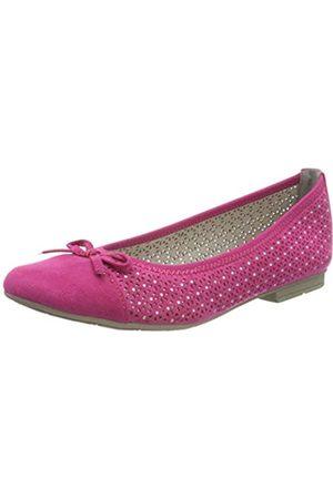 Jana 100% comfort Damen 8-8-22111-24 Geschlossene Ballerinas, Pink (Pink 510)