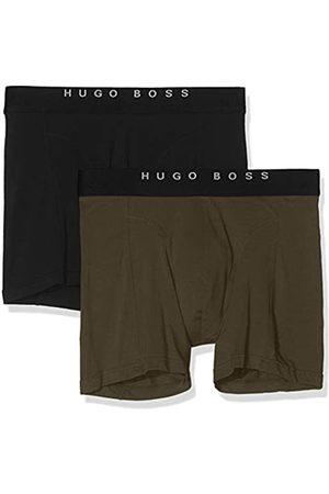 HUGO BOSS Herren Boxer Brief 2P Solid Boxershorts