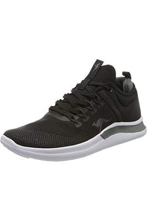 KangaROOS KG-Nimble, Damen Sneaker , (Jet Black/Steel Grey 5003)