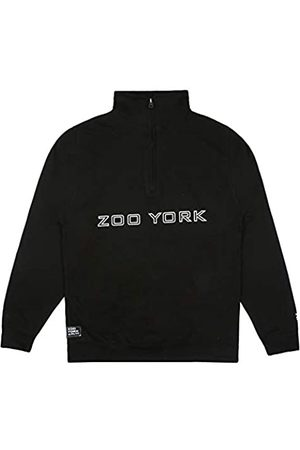 ZOO YORK Herren Bank Outline Zipped Crew Pullover