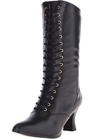 Pleaser Damen Vic120/B/Pu Langschaftstiefel