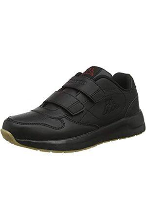 Kappa Unisex-Kinder Base Kids Sneaker, (Black 1111)