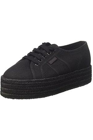 Superga Damen 2790-COTCOLOROPEW Sneaker, (Total Black 997)