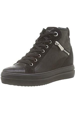 IGI&CO Damen Donna-41543 Hohe Sneaker, (Nero 4154300)