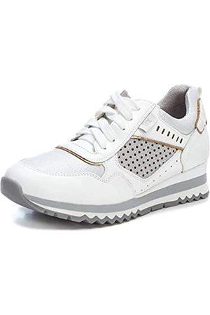 Xti Damen 49797 Sneakers, (Blanco Blanco)