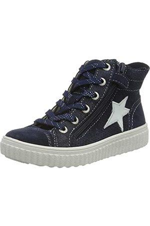 Lurchi Mädchen NASIKA Hohe Sneaker, (Navy 22)