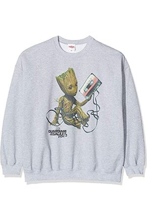 Marvel Herren Guardians of The Galaxy Vol2 Groot Tape, (Sports Grey SpGry) XXL-Sweatshirt