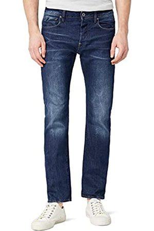 G-Star G- STAR Herren Straight Leg Jeanshose Revend - accel stretch denim, (Medium Aged)