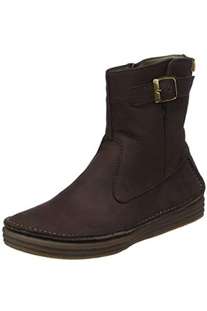 El Naturalista Damen N5046 Pleasant Rice Field Kurzschaft Stiefel, (Brown Brown)