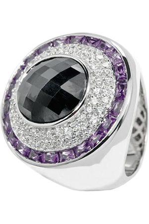 Carlo Monti Damen-Ring 925 Sterling rhodiniert