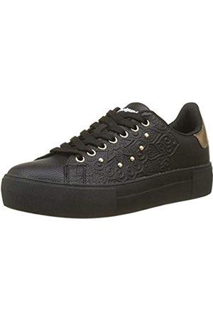 Desigual Damen Shoes_Star Winter VALKIRIA Sneaker, (Negro 2000)