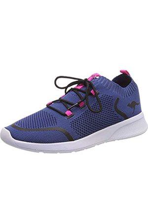 KangaROOS Unisex-Kinder KangaFOAM Sock Sneaker, (Iced Blue/Daisy Pink 4219)