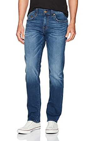"True Religion Herren Geno Slim Straight 32"" Inseam2 Jeans"