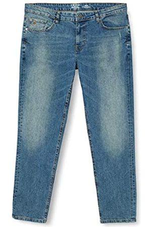 Izod Herren Light DSTR Slim Denim Straight Jeans