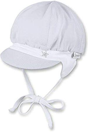 Sterntaler Ballonmütze für Jungen mit Bindebändern, Ohrenklappen und Muster mit Wal-Motiven, Alter: 6-9 Monate