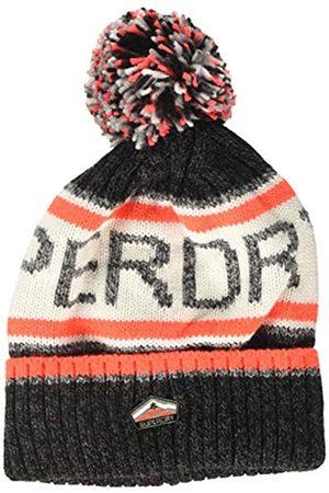 Superdry Herren Logo Beanie Strickmütze
