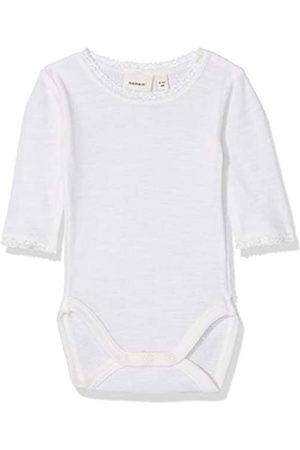 Name it Baby-Mädchen NBFWANG Wool Needle LS Body NOOS Strampler