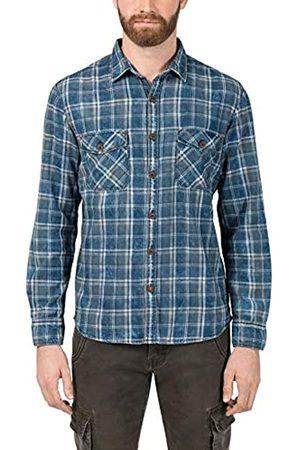 Timezone Herren Washed Flannell Shirt Freizeithemd