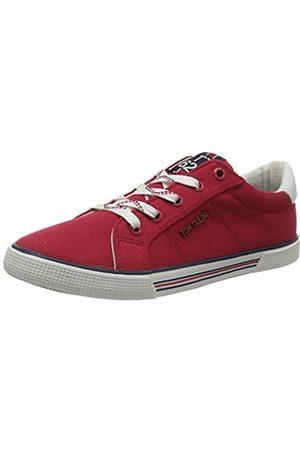 TOM TAILOR Mädchen 8070601 Sneaker, (Red 00004)