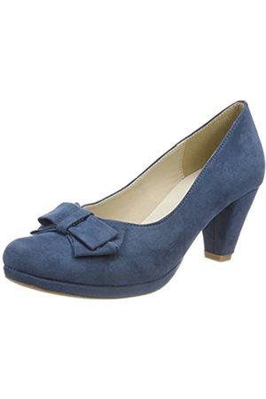Andrea Conti Damen 1005718 Pumps, (Jeans)