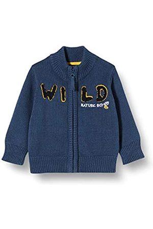 Blue Seven Baby-Jungen Mini Strickjacke mit Stehkragen Sweatjacke