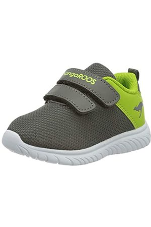 KangaROOS Unisex Baby KI-Lite V Sneaker, (Steel Grey/Lime 2014)
