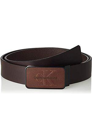Calvin Klein Herren J 3.5CM ADJ Mono Plaque Belt Gürtel