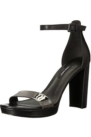 Nine West Damen Nirmla Riemchensandalen , (Black/Pewter)