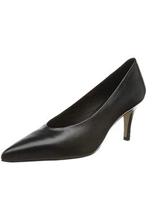 L'INTERVALLE Damen Melody Pumps, (Black Leather 001)