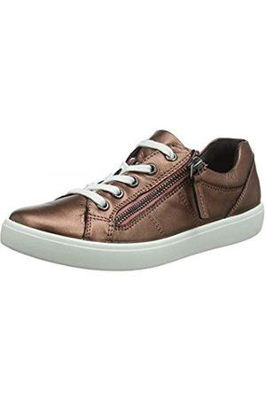 Hotter Damen Chase Sneaker, Pink (Dark Rose Metallic 353)