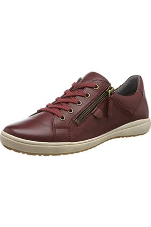 Josef Seibel Damen Caren 12 Sneaker, (Bordo 133 410)
