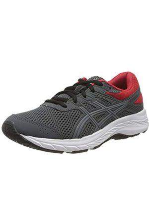 Asics Unisex-Child Contend 6 GS Running Shoe, Carrier Grey/Sheet Rock