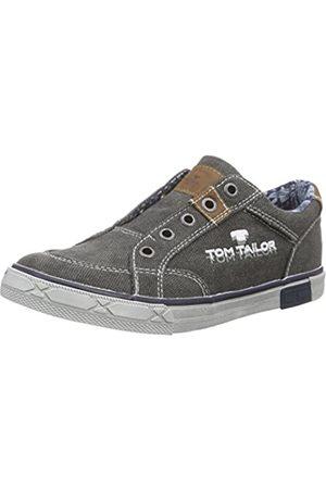 TOM TAILOR Kids Jungen Kinderschuhe Slipper, (Coal)