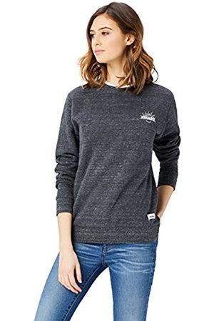 HIKARO Damen Crew Neck Sweatshirt mit Logo, 38