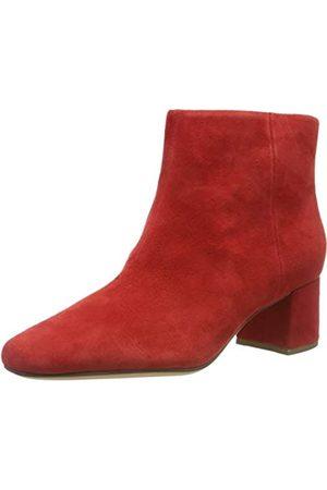 Clarks Damen Sheer Flora Chelsea Boots, Red Suede