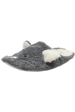 Eaze Damen Mouse Mule Hausschuhe, (Grey)
